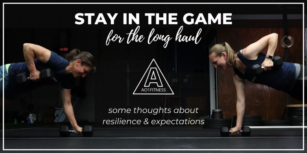 Resilience & Expectation